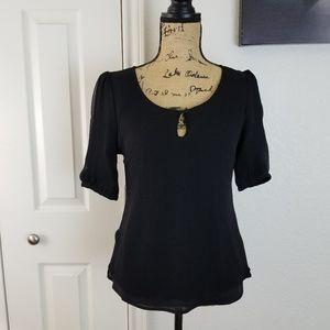 Antonio Melani silk blouse sz S